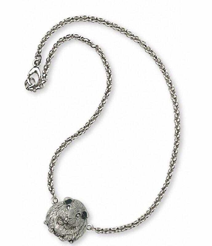 Guinea Pig Ankle Bracelet Jewelry Sterling Silver Handmade Piggie Ankle Bracelet
