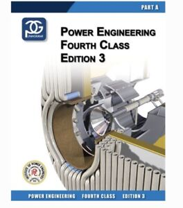 Power Engineering 4th class books for sale