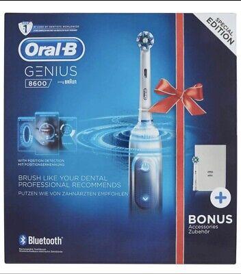 Oral-B Genius 8600 CrossAction - Cepillo Eléctrico (PRECINTADO)