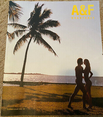 A & F Quarterly Abercrombie & Fitch Bruce Weber Summer 2002