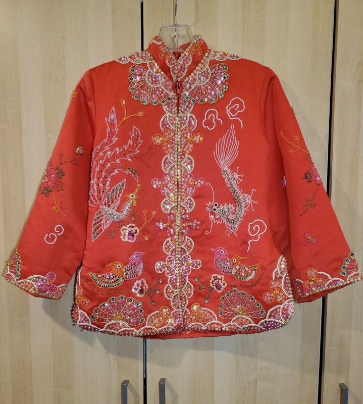 Red Chinese wedding dress - Kwa 2 piece item