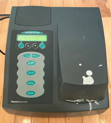 Thermo Spectronic Genesys 20 Spectrophotometer 40014