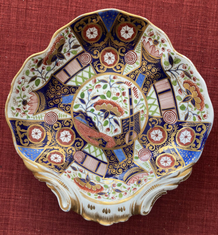 "c. 1806-1825 Crown Derby Platter 9.75"" Old Imari or"