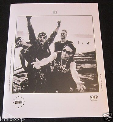 U2—1993 PUBLICITY PHOTO