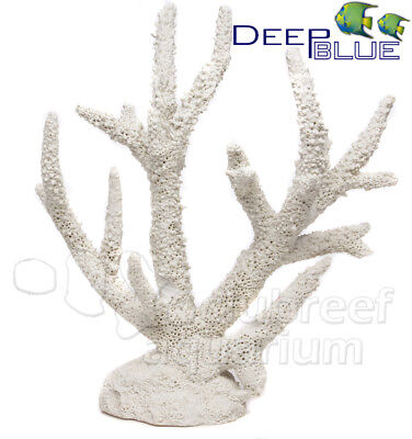 Staghorn Coral Replica/Faux Reef Aquarium Nautical Decor Sm #80090 - Coral Reef Decoration