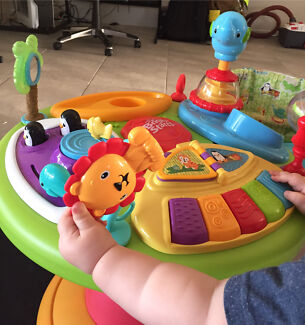 Bright starts activity table and walker