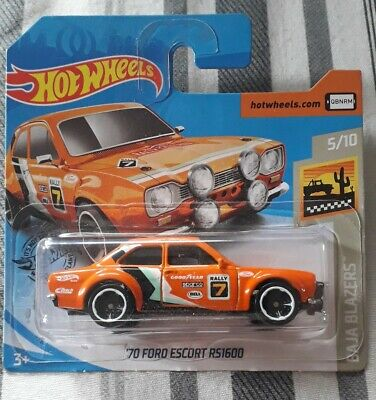 Hot Wheels 2019 '70 Ford Escort RS1600 - combined postage