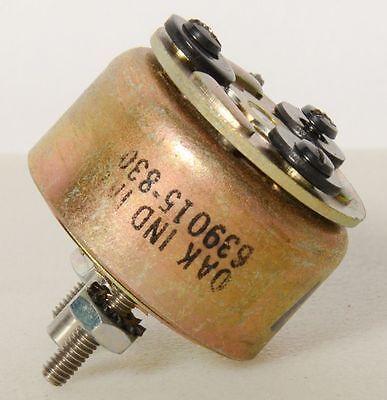 Oak Industries Rotary Solenoid 639015-830 8450 Screws