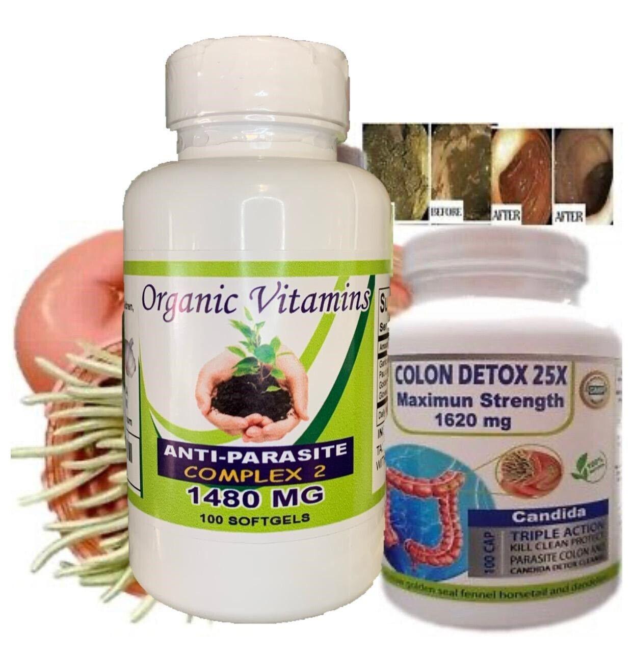 Fast COLON DETOX Clean & Flush Colon Parasite and lower intestines kill egg fast