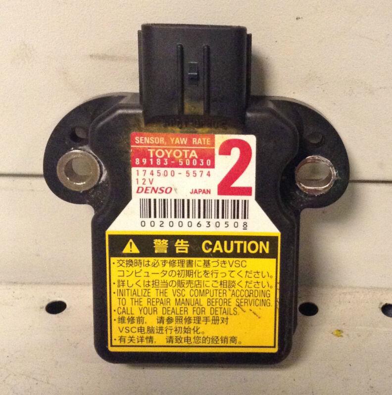 LEXUS GS, IS, LS  ESP YAW RATE SENSOR 89183-50030