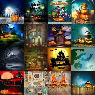 Happy Halloween Theme Party Background 5x5/8x8ft Trick or Treat Backdrops Vinyl](Happy Halloween Backgrounds Desktop)