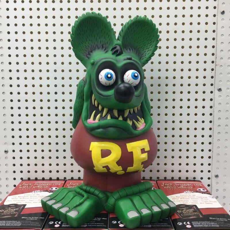 Green Rat Fink Ed Roth Garage Kit Rare Loose Toy Big Daddy 33CM Action Figure