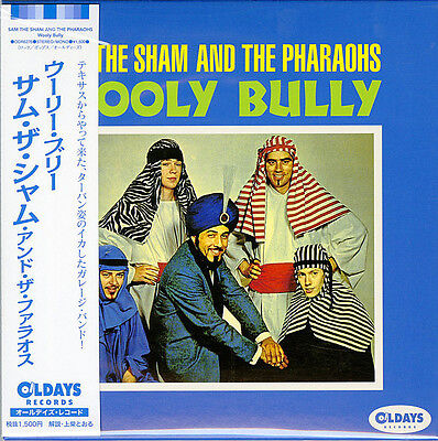 SAM THE SHAM AND THE PHARAOHS-WOOLY BULLY-JAPAN MINI LP CD