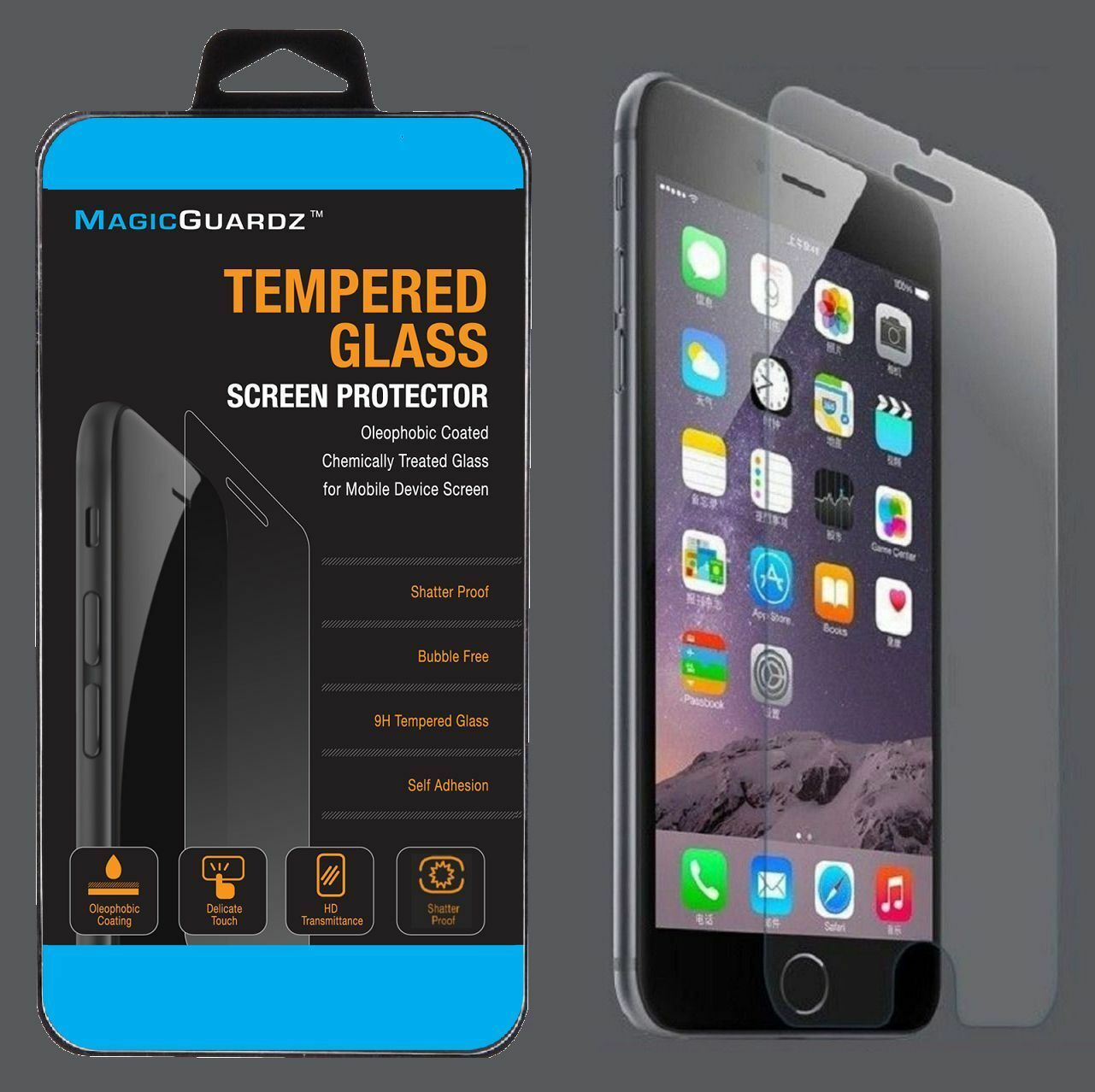 2.5D 0.33MM Premium Tempered Glass Screen Protector for