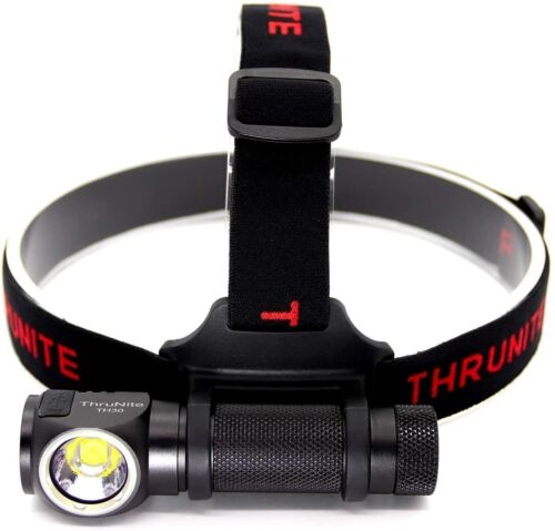 ThruNite Rechargeable Headlamp, TH30 LED Head Lamp, Ultra-bright 3350 Lumens