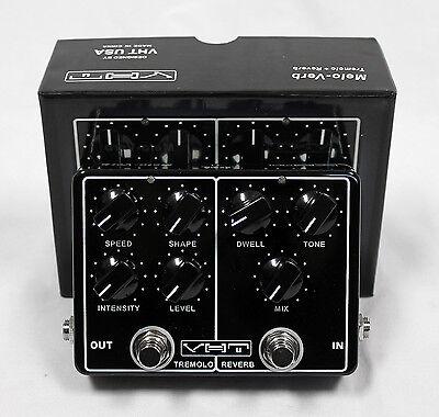 VHT AV-MV1 Melo-Verb Tremolo and Reverb Guitar Effects Pedal