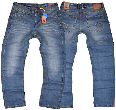 Timezone Herren Jeans Coast blau 3212 Jeanshose Denim Hose Regular Fit Cool Wash Wash Denim Hose