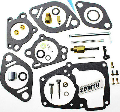 Zenith Carburetor Kit Fit International Truck Engine Kb6 Kb7 76560r92 10738 Zc78