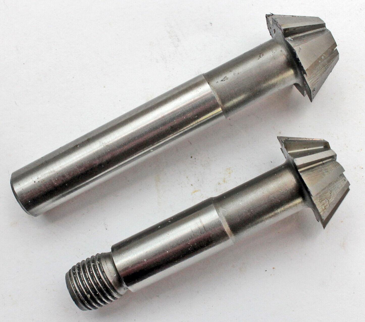 1 Stück Schaftfräser Winkelfräser HSS 16, 20, 22, 25, 32, 38 mm, 45°oder 60°