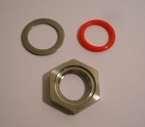 WELDLESS FITTINGS KIT FOR BREW KETTLE THERMOMETER BULKHEAD THERMOWELL PROJECTS