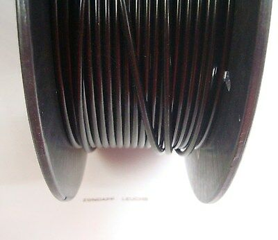 (1,19€/m) Bowdenzug Hülle Schwarz 1 Meter 2,5x5mm Mofa Moped KKR