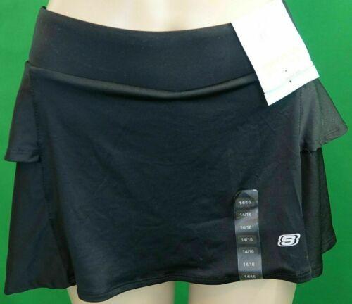 Girls Skechers Active Skirt/Skort Black with Shorts Underneath NEW