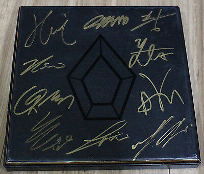 PENTAGON 1st Mini Album K-POP REAL SIGNED AUTOGRAPHED PROMO CD