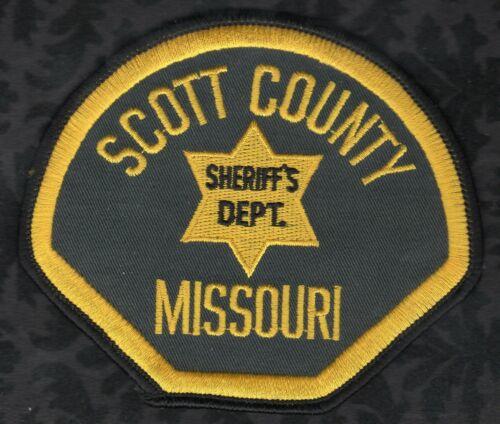 Scott County Missouri Sheriff Shoulder Patch