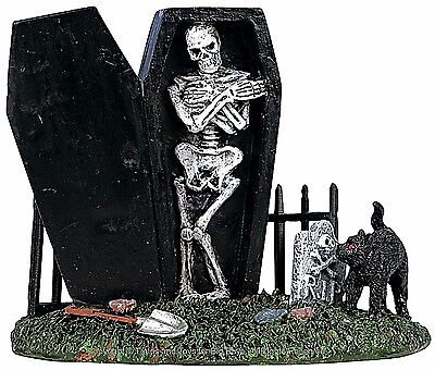 Lemax 62201 SPOOKY GRAVEYARD FIGURE SPOOKY TOWN Halloween Decor Figurine New I