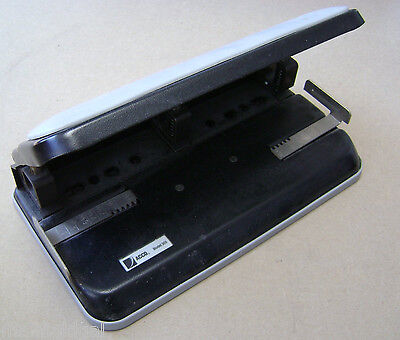 Used Acco 300 Easy Touch Heavy Duty Desktop Office 3 Hole Punch 9 34x5 14