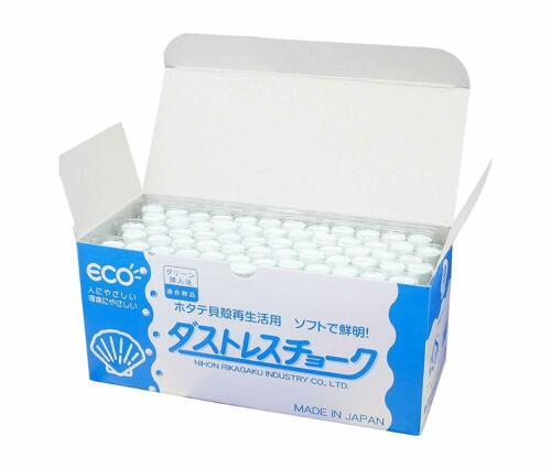 Nihon Rikagaku Industry Chalk Hagoromo Fulltouch White 72pcs From Japan