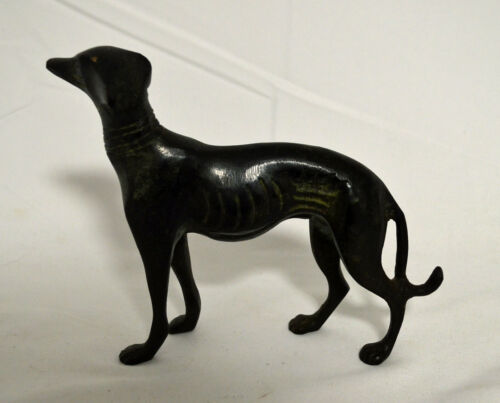 Metal Whippet Sculpture