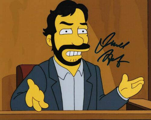 GFA The Simpsons * JUDD APATOW * Signed Autographed 8x10 Photo COA