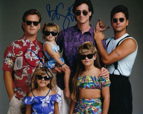 GFA Full House * BOB SAGET & JOHN STAMOS * Cast Signed 8x10 Photo PROOF AD3 COA