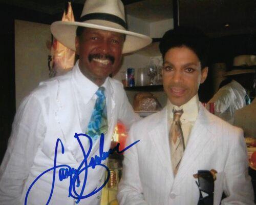 GFA Sly & the Family Stone * LARRY GRAHAM * Signed 8x10 Photo w/ Prince L2 COA