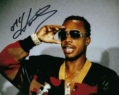 LEGEND MC HAMMER SIGNED 8X10 PHOTO W//COA YOU CAN/'T TOUCH THIS RAPPER SINGER C
