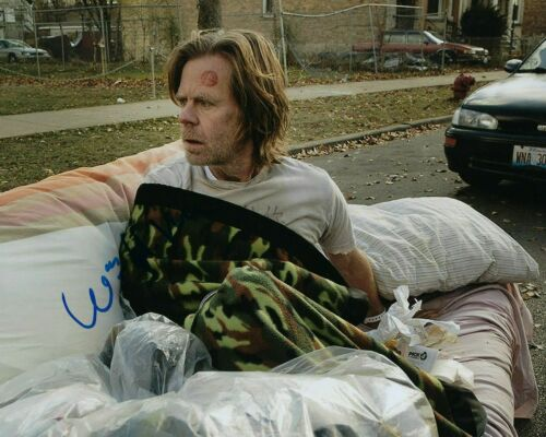 GFA Shameless Frank Gallagher * WILLIAM H. MACY * Signed 8x10 Photo COA