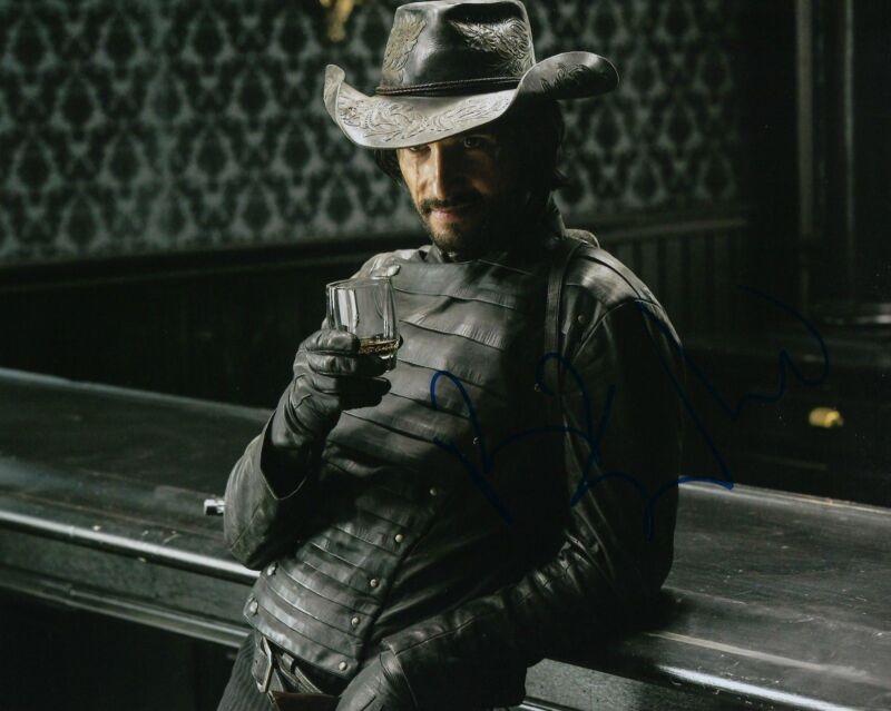 GFA Westworld Hector * RODRIGO SANTORO * Signed 8x10 Photo PROOF AD3 COA
