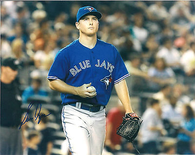 SAM DYSON  BLUE JAYS SIGNED AUTOGRAPHED 8X10 PHOTO W/COA