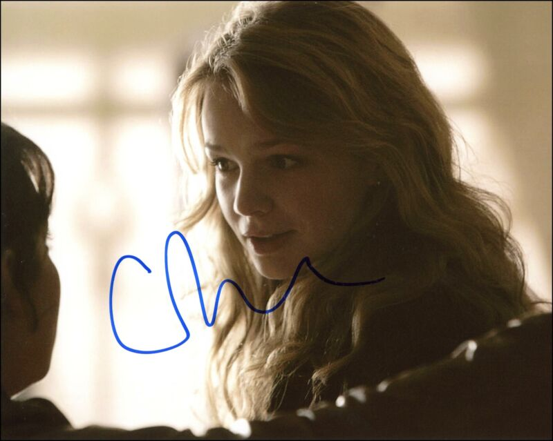 """Carey Mulligan """"Doctor Who"""" AUTOGRAPH Signed 'Sally Sparrow' 8x10 Photo B"""