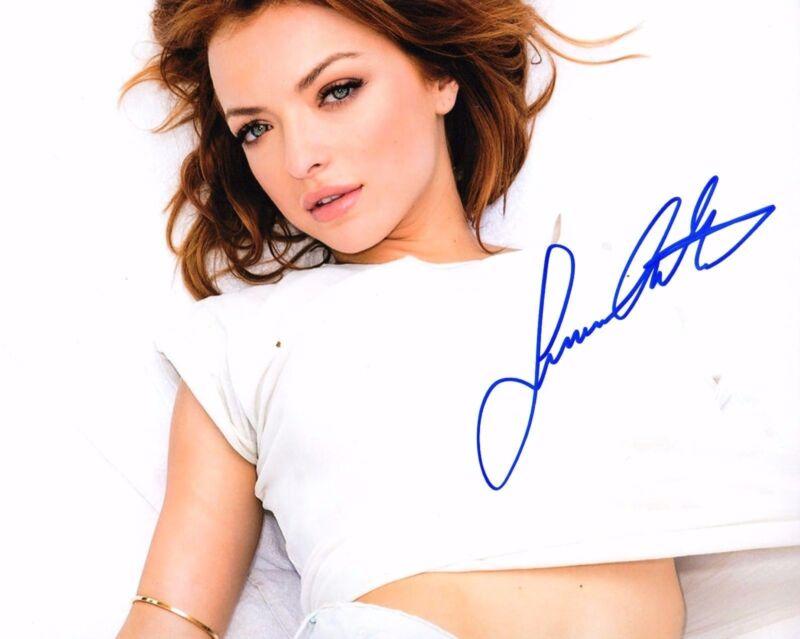 GFA Sexy Movie Actress * FRANCESCA EASTWOOD * Signed 8x10 Photo PROOF AD2 COA