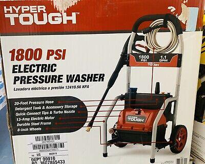 Hyper Tough 1800 PSI Electric Pressure (Hyper Tough Electric Pressure Washer 1800 Psi)
