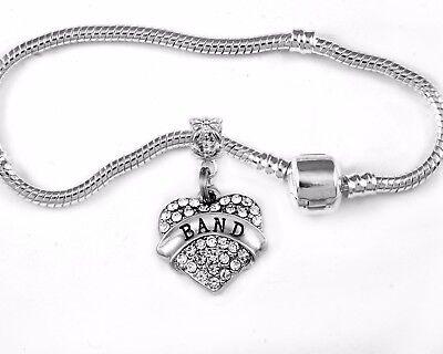 Band Bangle Band bracelet European style jewelry best music gift instruments OBO