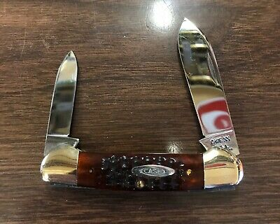 Case Xx Red Bone 62131 Canoe Knife 1970's