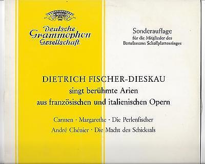Fischer-Dieskau mit Ferenc Fricsay : Berühmte Arien aus französischen u. italien