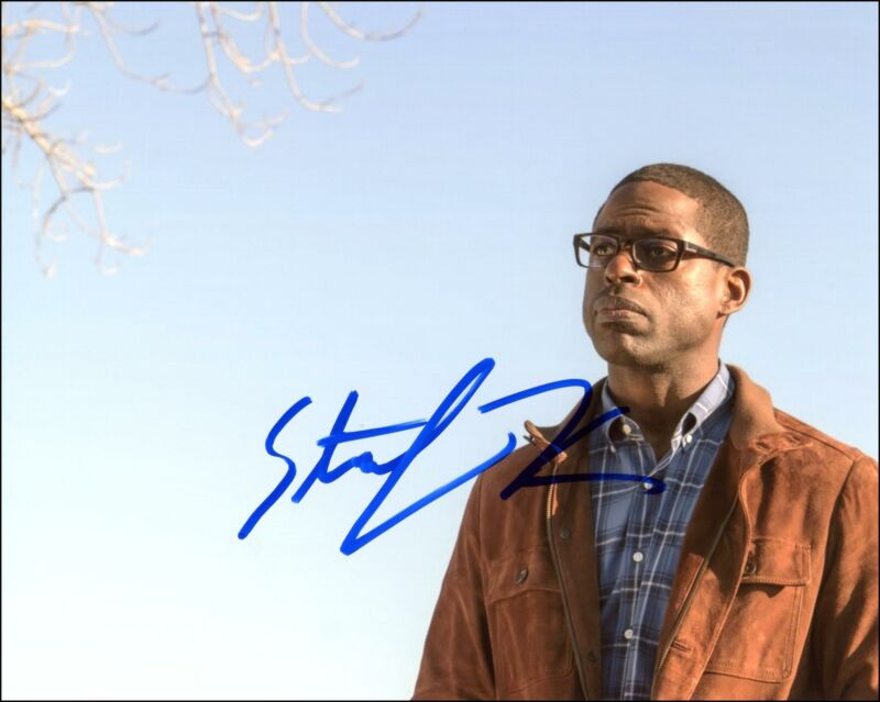 "Sterling K. Brown ""This Is Us"" AUTOGRAPH Signed 8x10 Photo C ACOA"