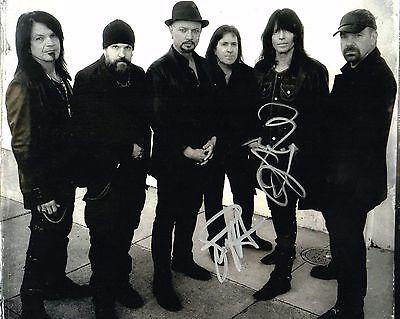 Gfa Dio Band   Simon Wright   Rudy Sarzo   Signed Autograph 8X10 Photo Proof Coa
