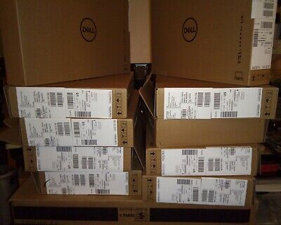 10 Empty Dell Laptop Boxes Not Broken Down With Packing