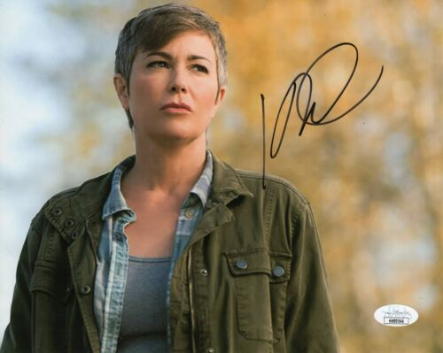 "Kim Rhodes Autograph Signed 8x10 Photo - Supernatural ""Jody Mills""  (JSA COA)"