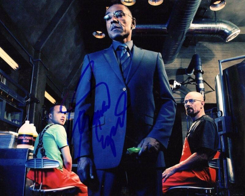 GFA Breaking Bad Gus * GIANCARLO ESPOSITO * Signed Autograph 8x10 Photo AD1 COA